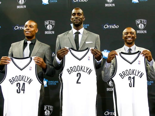 Paul Pierce, Kevin Garnett and Jason Terry are Nets. But they're not the only players changing zip codes this offseason. USA TODAY Sports' Adi Joseph ranks the top 30 players switching teams.
