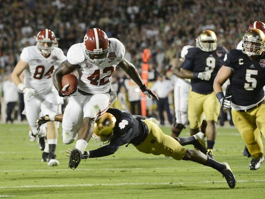 Blowout: Alabama routs Notre Dame for repeat BCS title