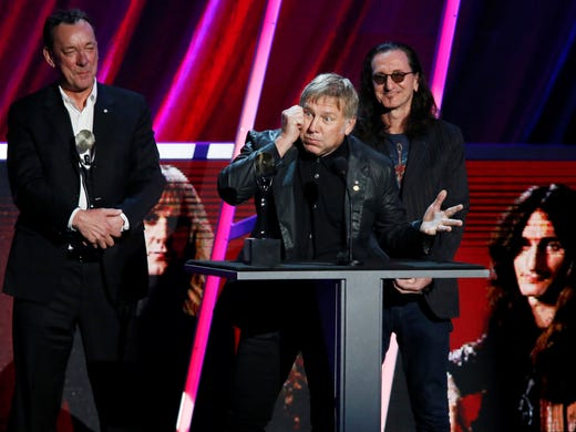 rush rules rock and roll hall of fame induction. Black Bedroom Furniture Sets. Home Design Ideas