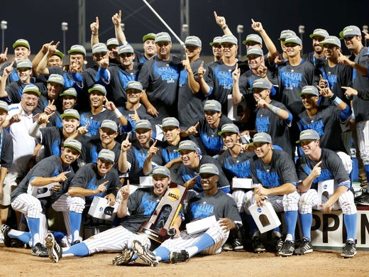 Ncaa 39 s leech is moving in cws fences worth cost for Garden city community college baseball