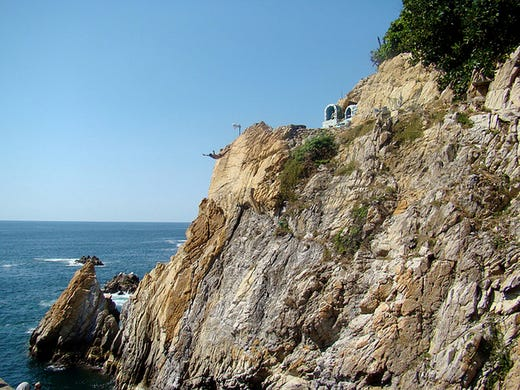 Worlds Most Thrilling Cliff Diving Spots - 8 most dangerous cliff jumps in the world