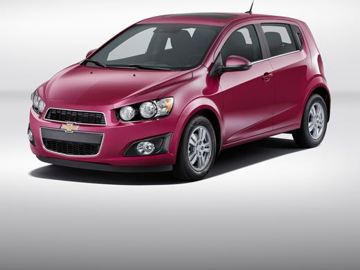 Purple Chevy Spark >> Purple? Pink? Chevrolet bets on wacky car colors