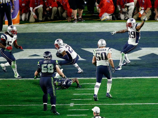 New England Patriots strong safety Malcolm Butler (21)