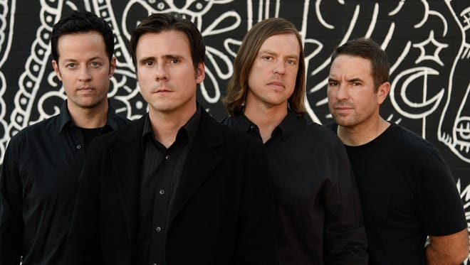 Jimmy Eat World will perform in Knoxville on March 6.