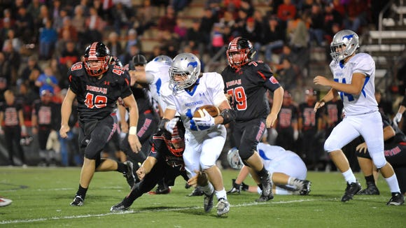 Pisgah and Smoky Mountain played Friday night in Canton.