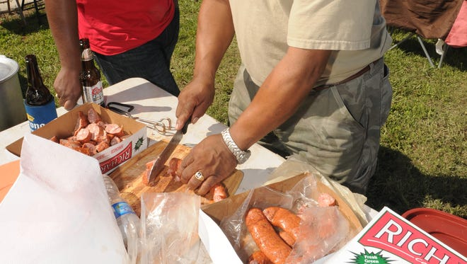 Food and football are priorities for Louisiana residents.