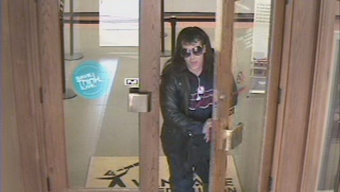Police search for south county bank robbery suspect