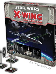Star Wars X-Wing is a game that puts gamers in control of the most advanced starfighters and outstanding pilots in the galaxy! In X-Wing Miniatures Game, you take the role of squad leader and command a group of merciless Imperial or daring Rebel pilots in furious ship-to-ship space combat.