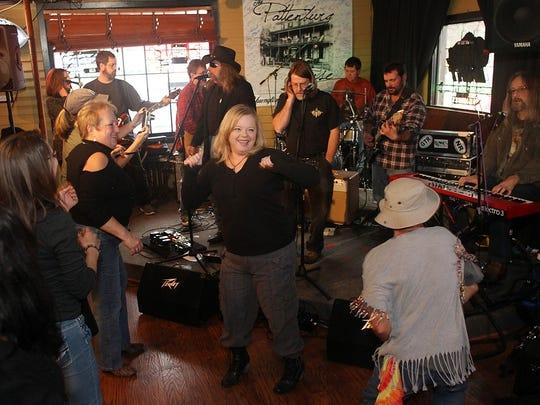 Bones Weedsley perform at Pattenburg House, Sunday,