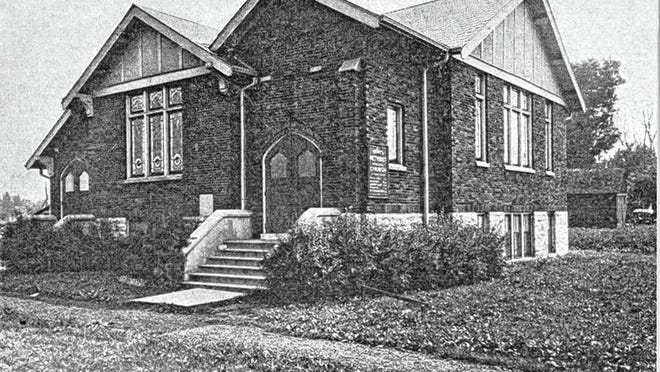The West Fifth Avenue Methodist Episcopal Church originally was at the northwest corner of West Fifth Avenue and North Star Road. The land was provided by the Rev. James S. Ricketts. The church first met in private homes until the Methodist Conference appointed the Rev. William C. Holliday as the first official minister. The membership grew, and a chapel was built in 1902 at the corner of West Fifth and North Star. As the central Ohio population grew, a new church building, pictured above, was erected in Grandview Heights near the corner of West First and Ashland avenues. The name was changed to Trinity Methodist Episcopal Church. The church stayed there through World War I, the Great Depression and a name change to Grandview Methodist Episcopal Church, and the congregation continued to grow under the leadership of Frederick Ross, who was appointed in 1922. In 1939, Paul Rugg arrived to the steadily growing congregation, and the decision was made to buy two lots at the corner of Cambridge Boulevard and West Fifth Avenue. Over the next 10 years, the lots were paid for and construction began on what is now Trinity Methodist Church. The first service in the new building was held Sept. 30, 1951. Today's congregation enjoys new additions to the building and a still-growing attendance.