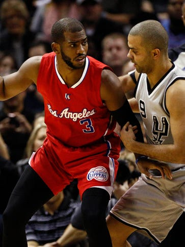 The Los Angeles Clippers and point guard Chris Paul