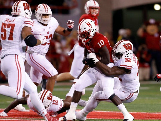 NCAA Football: Wisconsin at Nebraska