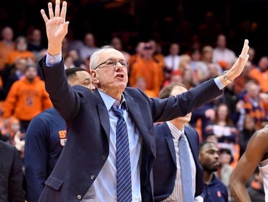 Like all college basketball coaches, Jim Boeheim loves