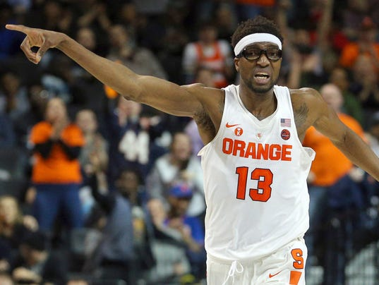 NCAA Basketball: ACC Conference Tournament-Syracuse vs Wake Forest