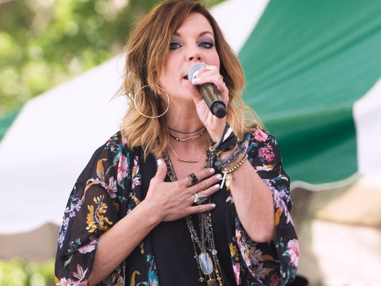 Martina McBride performs at Spiedie Fest on Sunday.