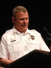 Newark Police Chief Barry Connell