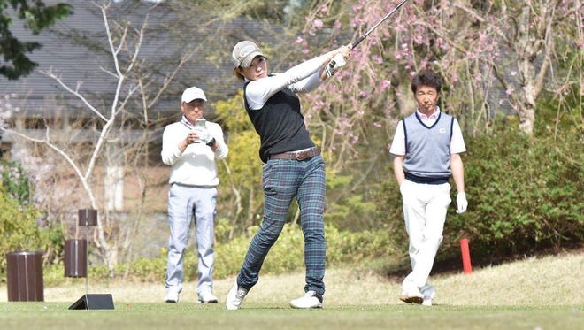 Yasuda Konomi, a member of Japan LPGA who will be in the Guam Reef and Olive Spa  fundraiser golf tournament on July 29.