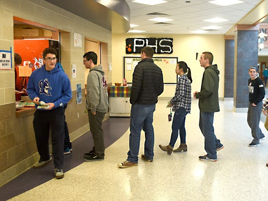 Palmyra High School Life Skills Coffee Shop offers a bridge between students with disabilities and traditional students. Coffee shop workers learn life skills like taking orders, counting money, and customer service.