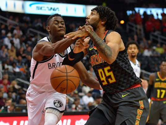 NBA: Brooklyn Nets at Atlanta Hawks