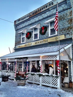 The Virgelle Merc holds a huge antiques sale as part of the Chouteau County Country Christmas.