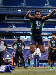 The broad jump is another drill that can show how much