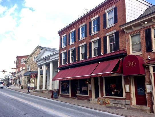 Historic downtown Doylestown is a very walkable area.