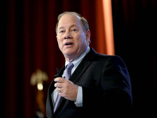 Detroit Mayor Mike Duggan gives his annual State of