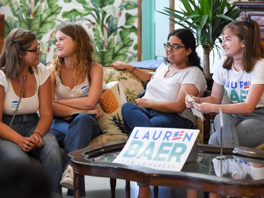 Martin County teens expressed their interest in political