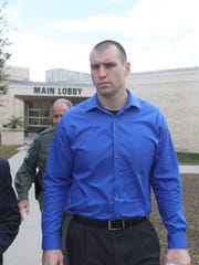 Steve Russell, the state attorney for the 20th circuit announced charges in the death of Mary Knowlton. Punta Gorda Police Chief, Tom Lewis was charged with culpable negligence, a misdemeanor. Punta Gorda police officer, Lee Coel was charged with felony manslaughter.  Coel was arrested. He was escorted out of the Charlotte County Jail by attorney, Jerry Berry.