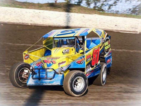 The late Mike Bailey raced on Tuesday, July 28, at Grandview's Thunder on the Hill event shortly before his passing.