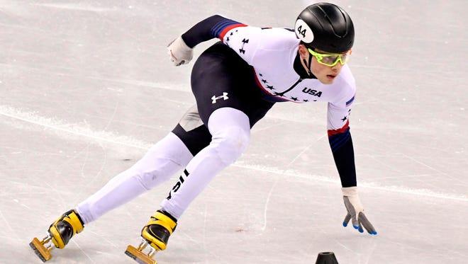 John-Henry Krueger impressed on the short track on Day 8.
