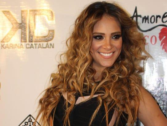 Karina Catalán.