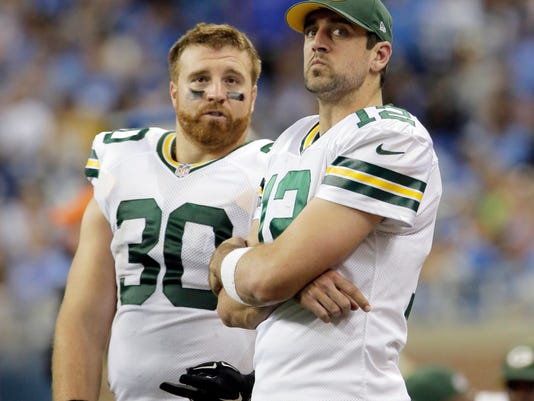 eb8df797b70 Clubhouse Live  Packers QB Aaron Rodgers joins John Kuhn