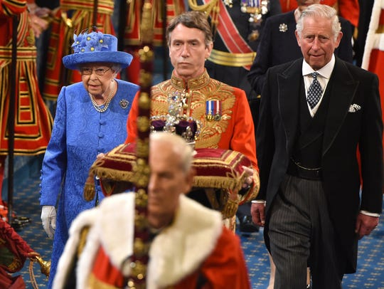 Prince Charles filled in for his ailing father during