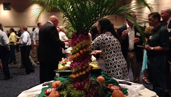The annual banquet organized by Gulf Citrus Growers Association.