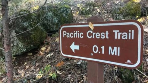 The Pacific Crest Trail goes through McArthur-Burney Falls Memorial State Park in Burney, Calif.