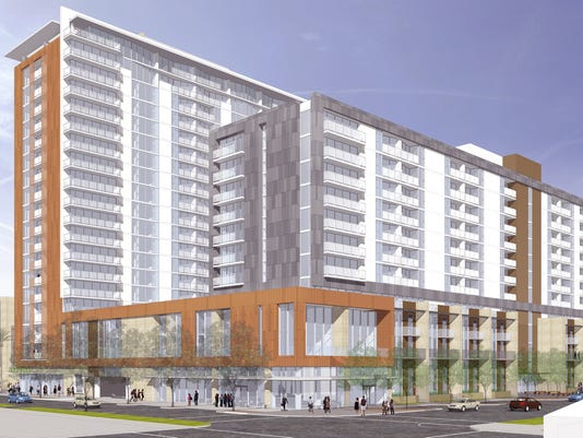 ASU apartments rendering
