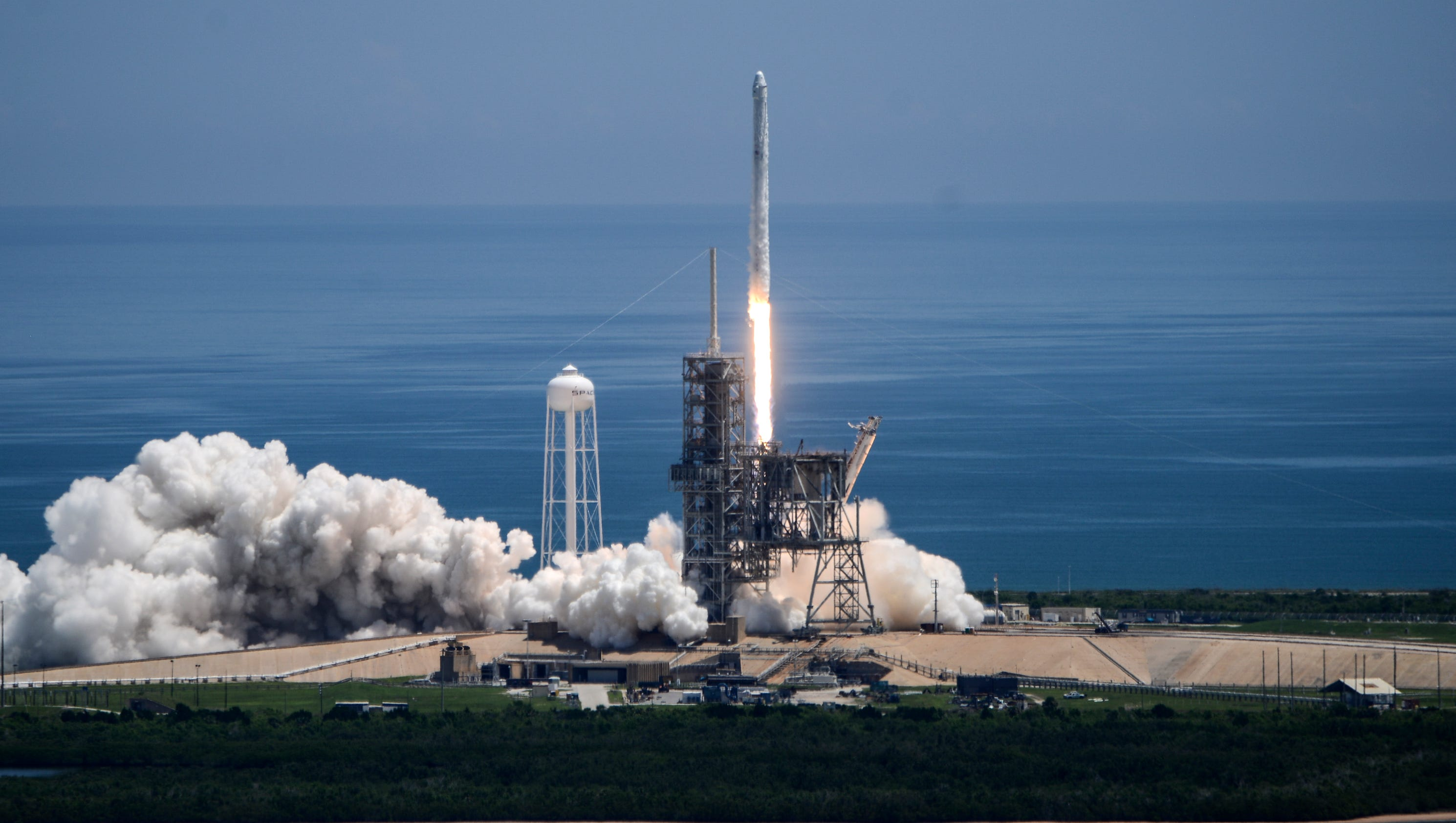 Spacex launches cargo to the space station for Space station usa
