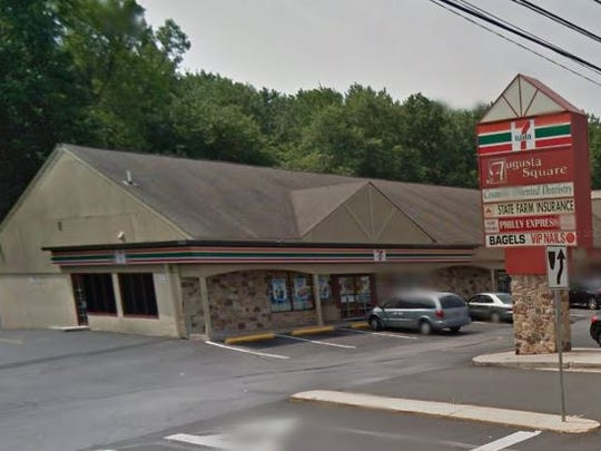 Twp masked men robbed this  7-Eleven in Ogletown early Sunday morning, state police say.