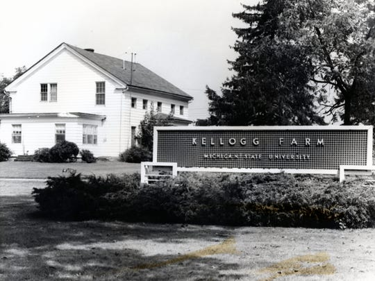 The Kellogg Farm after it was given to Michigan State