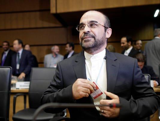 EPA AUSTRIA IRAN IAEA MEETI