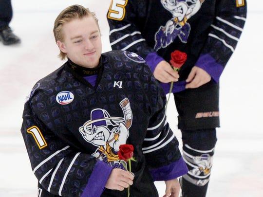 Shreveport Mudbugs goaltender Johnny Roberts vows to win playoff games in Shreveport.