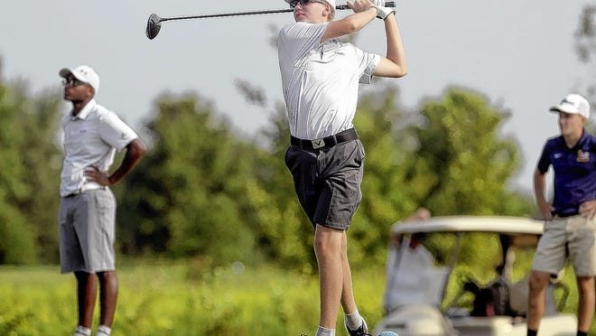 Freshman Grant Raubenolt has filled the No. 2 spot on the Reynoldsburg boys golf team, earning second-team all-league honors while helping the Raiders finish second in the OCC-Buckeye Division.