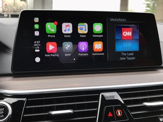 The 2017 BMW 5-series' new touchscreen makes it easier