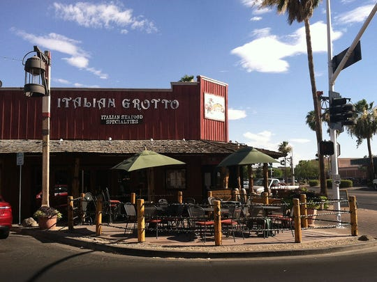 The Italian Grotto restaurant in Old Town Scottsdale.