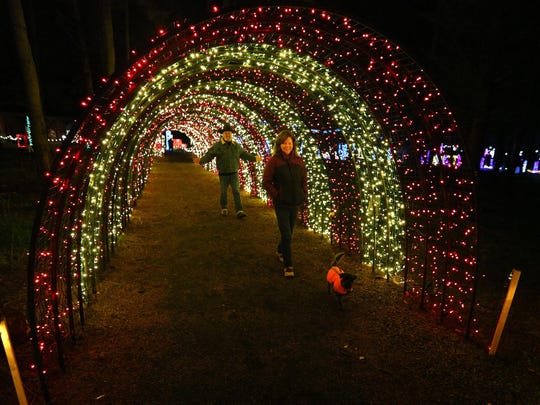 Christmas in the Garden, through Jan. 1