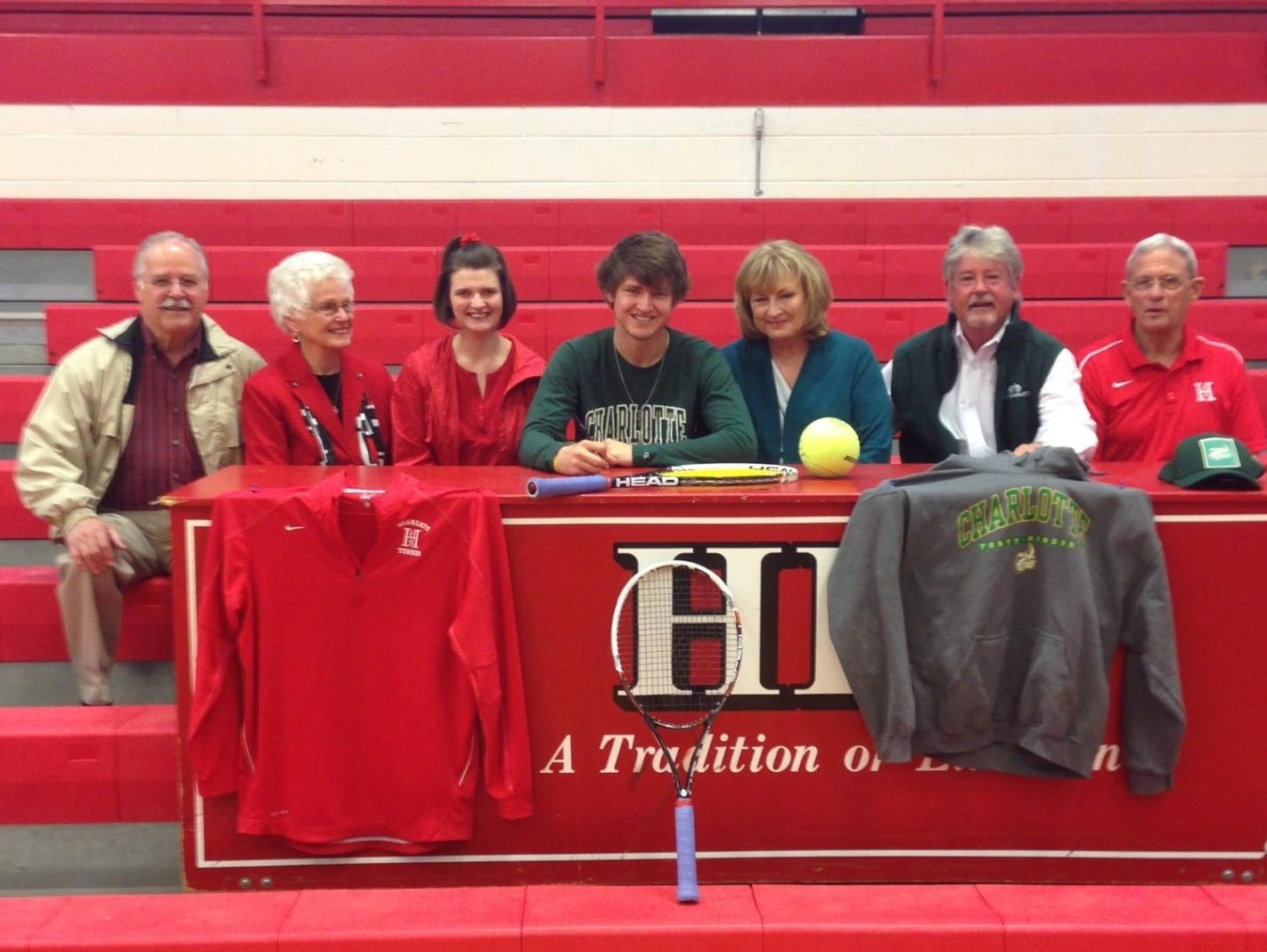 Hendersonville's Jacob Fuqua has signed to play college tennis for Charlotte.