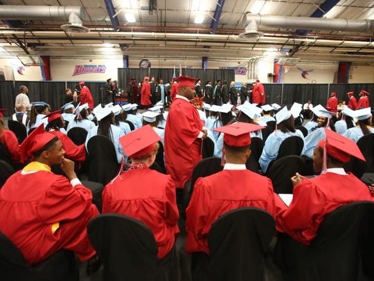 70 students are graduated from Early College High School