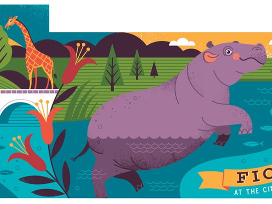 This is artist Lucie Rice's proposal for the Fiona