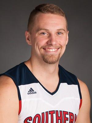 USI basketball player Kyle Aiton